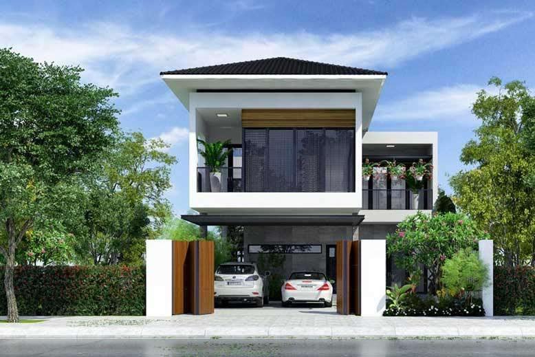 Địa điểm thích hợp xây dựng nhà 2 tầng