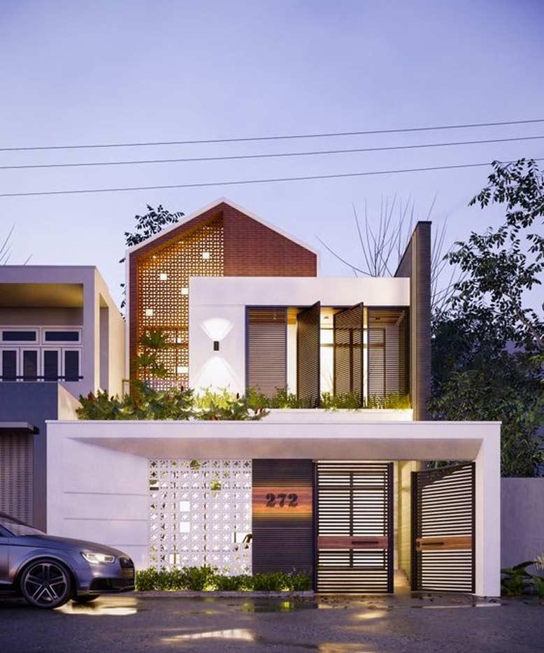 Đơn vị thiết kế nhà phố 2 tầng