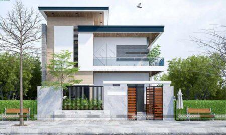 Nhà hiện đại 2 tầng thiết kế nhẹ nhàng, tinh tế – anh Dũng, quận 9