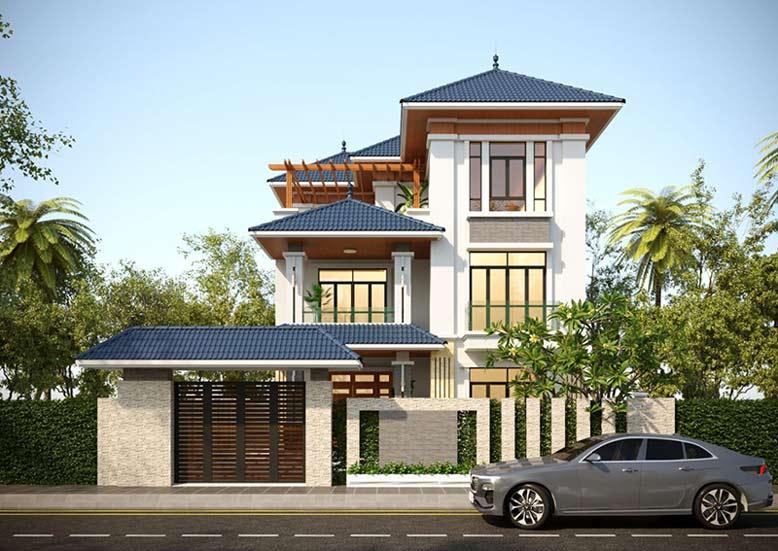 Kiến trúc phải hài hòa với không gian ngôi nhà
