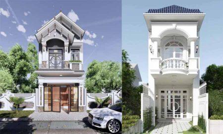 Chiêm ngưỡng các mẫu nhà phố 2 tầng đẹp, lý tưởng