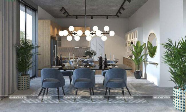 Thiết kế nội thất căn hộ hiện đại
