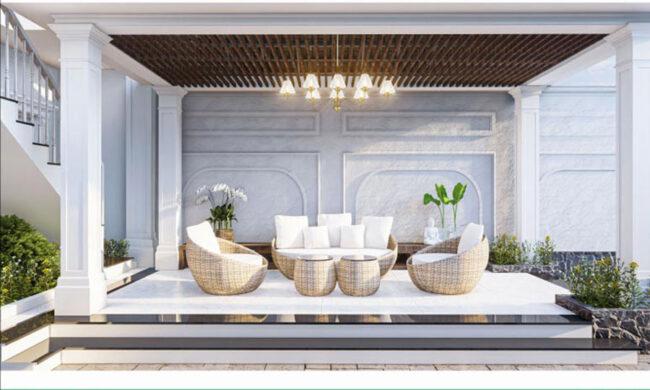 Thiết kế nội thất nhà phố 2 tầng gia đình anh Sơn