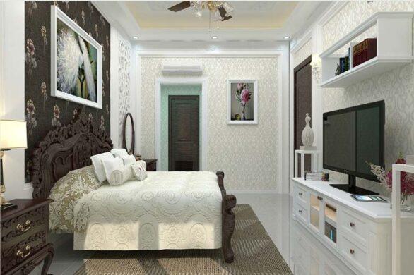 Không gian phòng ngủ được sắp xếp một cách hợp lý, khoa học