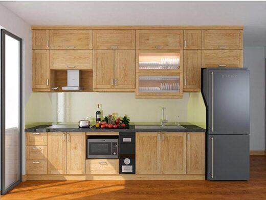 Phòng bếp đơn giản đầy tiện nghi