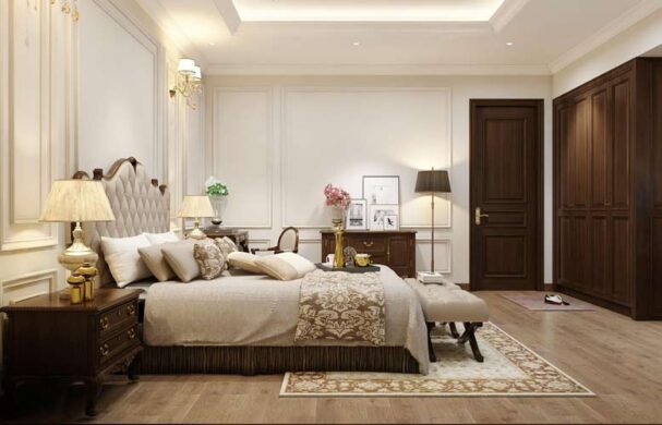 Phòng ngủ thiết kế hướng đến sự thư giãn, thoải mái