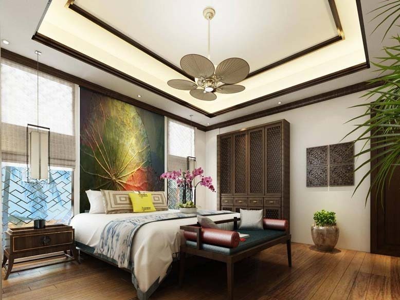 Phòng ngủ thiết kế độc đáo ấn tượng
