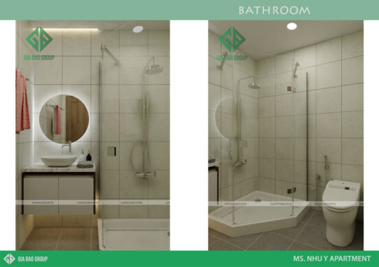 Thiết kế nhà vệ sinh hiện đại, tiện nghi