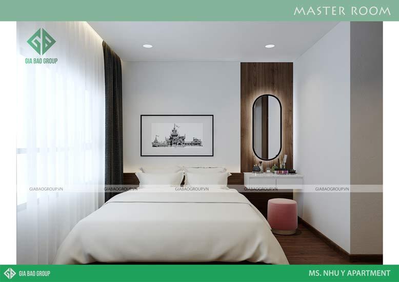 Phòng ngủ thiết kế đơn giản