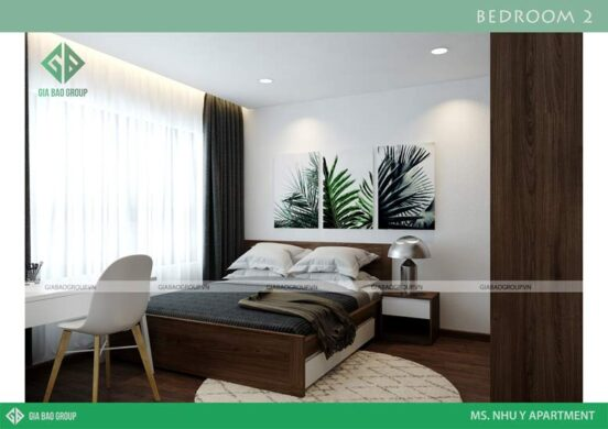 Thiết kế cửa sổ giúp căn phòng có thêm nhiều ánh sáng